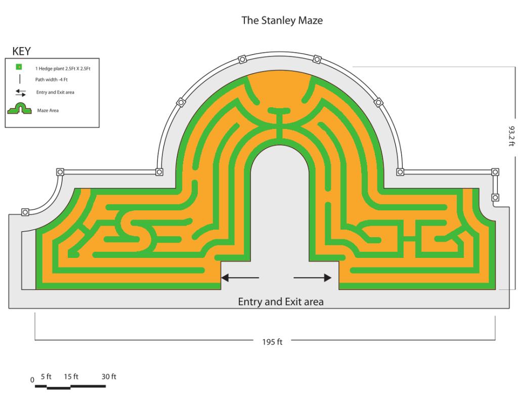 Rob Nugen Stanley Hotel maze 2015